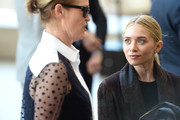 Lisa Love and Ashley Olsen attend the Anna Wintour Costume Center Grand Opening at the Metropolitan Museum of Art on May 5, 2014 in New York City.