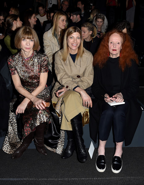ba1af42211656 Vera Wang Collection - Front Row - Fall 2016 New York Fashion Week: The  Shows