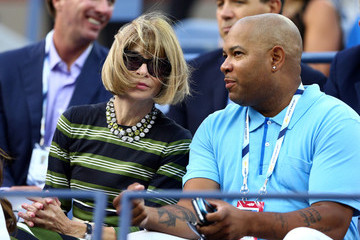 Anna Wintour US Open: Day 2
