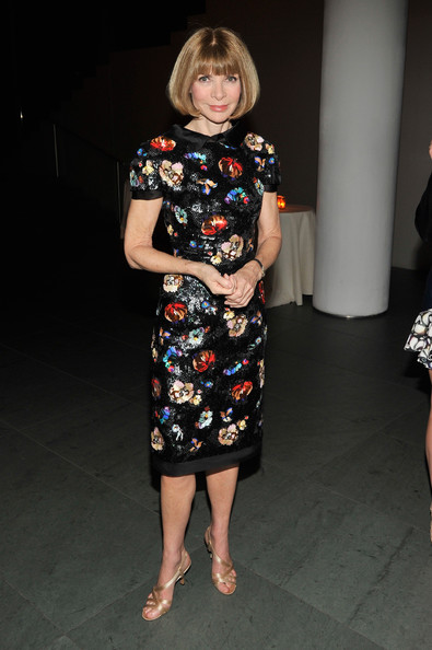 Anna Wintour - Stars at the MoMA Film Benefit — Part 2