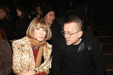 Anna Wintour Steven Kolb Hood By Air - Front Row - Fall 2016 New York Fashion Week: The Shows