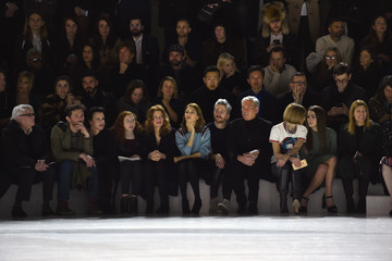 Anna Wintour Virginia Smith Marc Jacobs Fall 2016 Show - Front Row