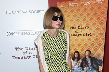 Anna Wintour Sony Pictures Classics with the Cinema Society Host a Screening of 'The Diary of a Teenage Girl'