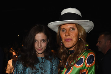 Anna dello Russo Front Row at DSquared2
