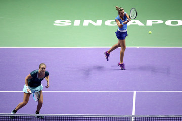 Anna-lena Groenefeld BNP Paribas WTA Finals Singapore Presented by SC Global - Day 5