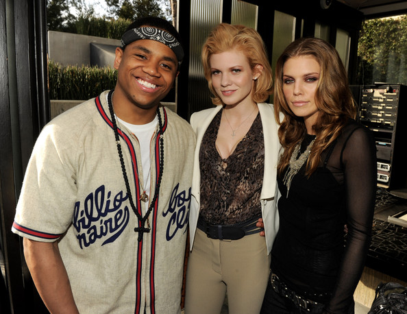 '90210' Wrap Party [season,fashion,event,fun,cool,photography,leisure,party,t-shirt,style,actors,annalynne mccord,angel mccord,tristan wilds,90210 series wrap party,l-r,los angeles,cw network,wrap party]