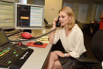 AnnaSophia Robb Annual Charity Day Hosted By Cantor Fitzgerald, BGC and GFI - BGC Office - Inside