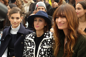 Anne Berest Front Row at Chanel