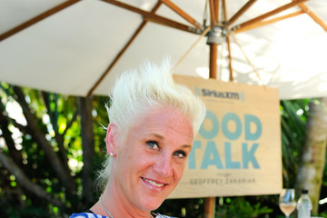 Anne Burrell SiriusXM's Food Talk With Geoffrey Zakarian At The Miami Beach EDITION