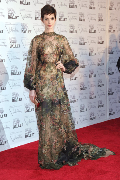 Anne Hathaway - 2012 New York City Ballet Fall Gala