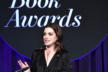 Anne Hathaway 68th National Book Awards - Inside