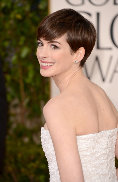 Anne Hathaway - 70th Annual Golden Globe Awards - Arrivals