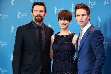 Anne Hathaway Eddie Redmayne 'Les Miserables' Photocall - BMW At The 63rd Berlinale International Film Festival