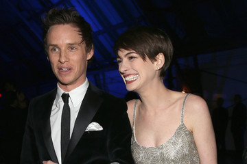 Anne Hathaway Eddie Redmayne 18th Annual Critics' Choice Movie Awards - Backstage And Audience