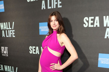 Anne Hathaway FIJI Water At Sea Wall / A Life Opening Night On Broadway