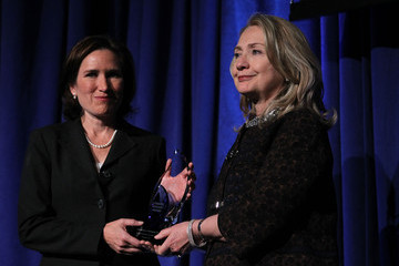 Anne Stevens Hillary Clinton Honors Late Ambassador Chris Stevens At Awards Ceremony