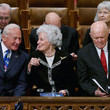 Annie Glenn Memorial Service For Neil Armstrong Held At National Cathedral