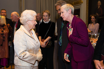 Annie Lennox The Queen and Duke of Edinburgh Attend an Awards Ceremony at The Royal Academy of Arts