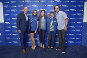 Jim Leyritz (L) and Johnny Damon (R) attend the Annual Charity Day Hosted By Cantor Fitzgerald, BGC and GFI on September 11, 2019 in New York City.