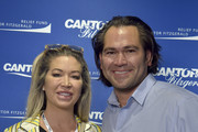 Johnny Damon (R) attends the Annual Charity Day Hosted By Cantor Fitzgerald, BGC and GFI on September 11, 2019 in New York City.