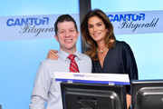 Cindy Crawford (R) attends the Annual Charity Day Hosted By Cantor Fitzgerald, BGC and GFI on September 11, 2019 in New York City.