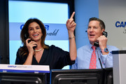 Cindy Crawford (L) attends the Annual Charity Day Hosted By Cantor Fitzgerald, BGC and GFI on September 11, 2019 in New York City.