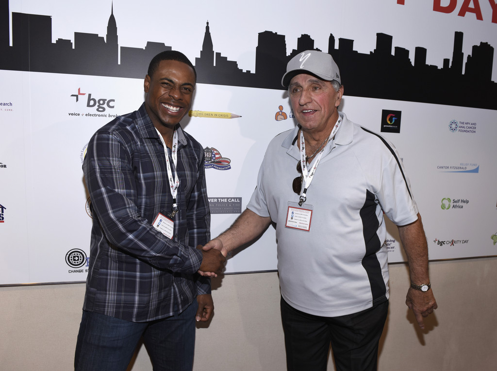 Cantor fitzgerald celebrity charity day reggie