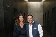 Cindy Crawford (L) and Nick Swisher attend the Annual Charity Day Hosted By Cantor Fitzgerald, BGC and GFI on September 11, 2019 in New York City.
