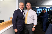 Tony Blair (L) attends the Annual Charity Day Hosted By Cantor Fitzgerald, BGC and GFI on September 11, 2019 in New York City.