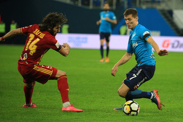 Anri Khagush FC Zenit Saint Petersburg vs FC Arsenal Tula - Russian Premier League