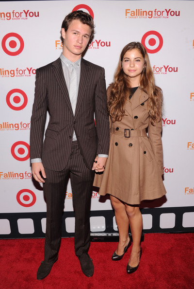 who has ansel elgort dated