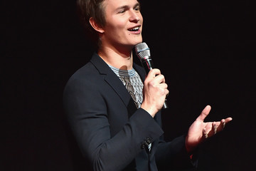 Ansel Elgort CinemaCon 2017 - Gala Opening Night Event: Sony Pictures Entertainment Exclusive Presentation
