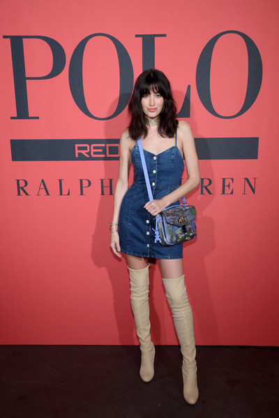 Polo Red Rush Launch Party With Ansel Elgort