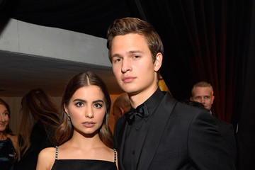 Ansel Elgort Violetta Komyshan The 2018 InStyle and Warner Bros. 74th Annual Golden Globe Awards Post-Party - Inside