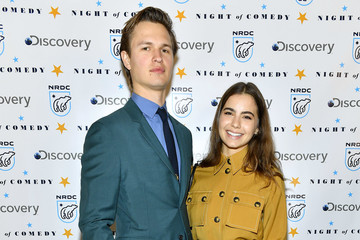Ansel Elgort Violetta Komyshan The National Resources Defense Council Presents 'Night of Comedy' Benefit Hosted by Seth Meyers