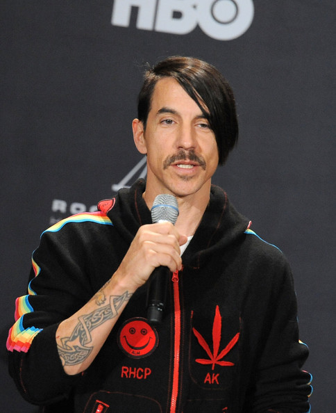 Anthony Kiedis Inductee Anthony Kiedis of Red Hot Chili Peppers speaks    Anthony Kiedis