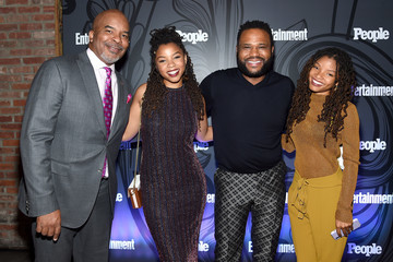 Anthony Anderson Entertainment Weekly & People New York Upfronts Party 2018 - Inside