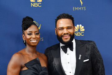 Anthony Anderson Alvina Stewart 70th Emmy Awards - Arrivals