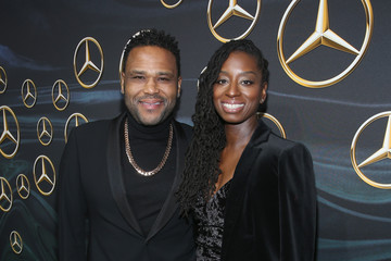 Anthony Anderson Alvina Stewart Mercedes-Benz USA Official Awards Viewing Party At Four Seasons In Beverly Hills