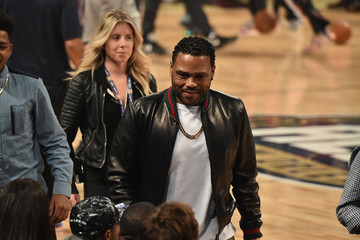 Anthony Anderson Celebrities Attend The 66th NBA All-Star Game