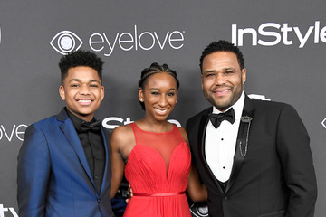 Anthony Anderson Kyra Anderson Warner Bros. Pictures and InStyle Host 18th Annual Post-Golden Globes Party - Arrivals