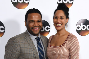 Anthony Anderson Tracee Ellis Ross Disney ABC Television Group Winter TCA Press Tour