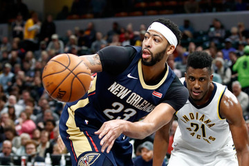 Anthony Davis New Orleans Pelicans v Indiana Pacers