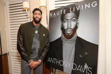 Anthony Davis Haute Living Honors L.A. Lakers Superstar Anthony Davis With XO And Louis XIII