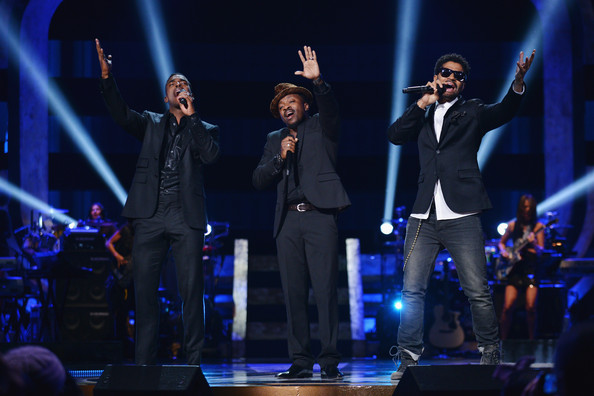 BET's Black Girls Rock 2012 - Show [performance,entertainment,music artist,performing arts,music,concert,event,musician,song,stage,eric benet,anthony hamilton,luke james,l-r,new york city,paradise theater,bet,black girls rock 2012 - show]