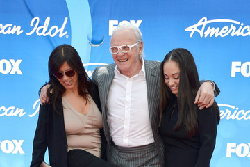 Anthony Hopkins Stella Arroyave Arrivals at the 'American Idol' Results Show