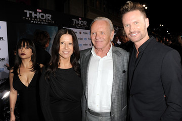 Anthony Hopkins Stella Arroyave 'Thor: The Dark World' Premieres in Hollywood — Part 2