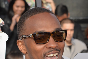 Anthony Mackie Arrivals at the MTV Movie Awards — Part 2