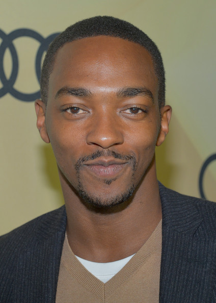 Anthony Mackie Actor Anthony Mackie attends the Kick Off for Golden    Anthony Mackie