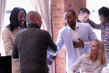 Anthony Mackie Jury Welcome Lunch - 2017 Tribeca Film Festival